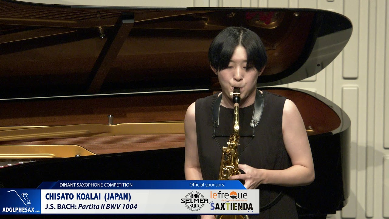 Chisato Koalai (Japan) – Partita II by J S  Bach
