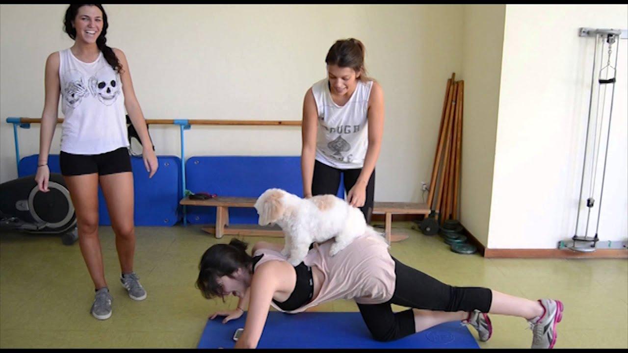 Ejercicios f ciles para hacer en casa parodia gimnasio - Ejercicios de gimnasio en casa ...
