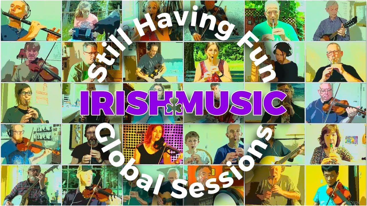 Global Irish Music Session Tune #14 | Garrett Barry's Jig ☘️🐐