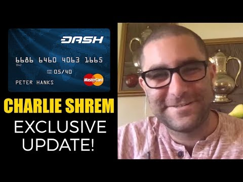 BREAKING NEWS - Charlie Shrem answers 14 questions about NEW Dash Pay Card!