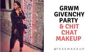 GRWM FOR GIVENCHY PARTY & CHIT CHAT MAKEUP -NOUVEAUX PROJETS? COMMENTAIRES MÉCHANTS  - TESSMAKEUP