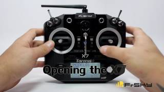 how to disable the spring loaded throttle stick on taranis q x7