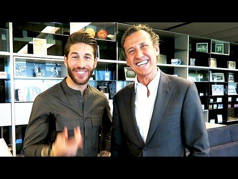 Con VALDANO y SERGIO RAMOS   Rodrigo Fáez Vlog 18 WEEKLY