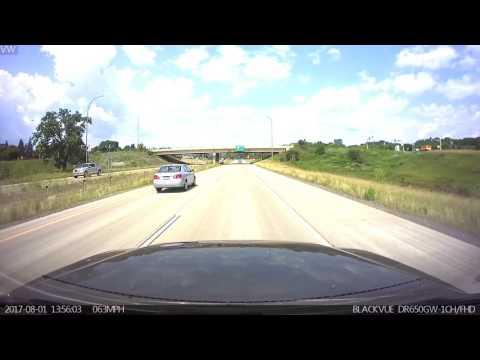 Blackvue Dashcam Minnesota Speed Trap