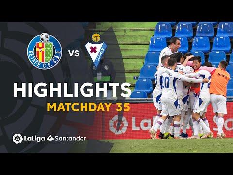 Getafe Eibar Goals And Highlights