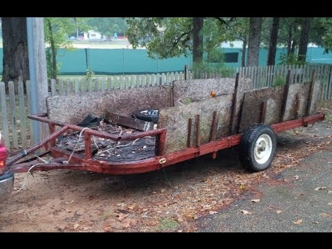 Craigslist Trade for Today - 16ft Utility Trailer - YouTube