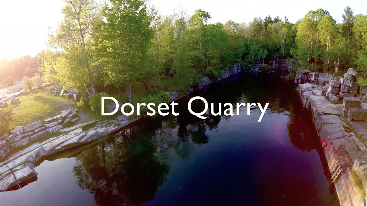 Vermont Cliff Jumping: Dorset Quarry 2016 - Watch In 1080pHD