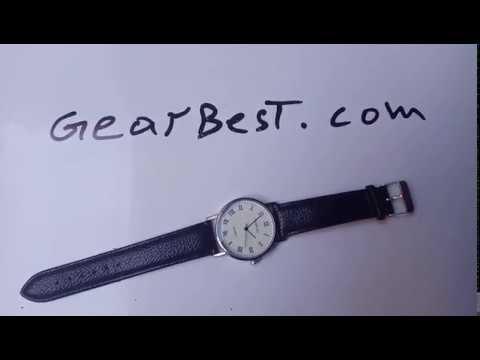 GENEVA Fashion Grid Pattern Dial Unisex Quartz Watch