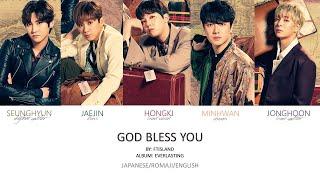 FTISLAND - 'God Bless You' Jpn/Rom/Eng (Colour Coded)