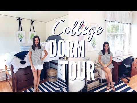 COLLEGE DORM TOUR 2019   Miami University Sophomore Year!