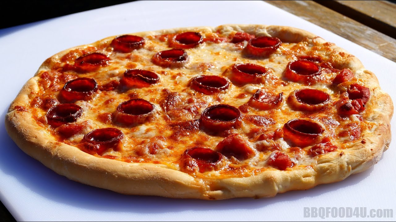 Pizza Recipe - How To Make Pizza At Home - Step By Step Dough & Cooking  Instructions - BBQFOOD28U