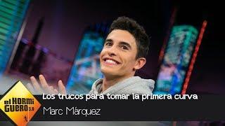 """Marc Márquez y sus trucos para tomar la primera curva: """"No arriesgamos al 100%"""" - El Hormiguero 3.0"""