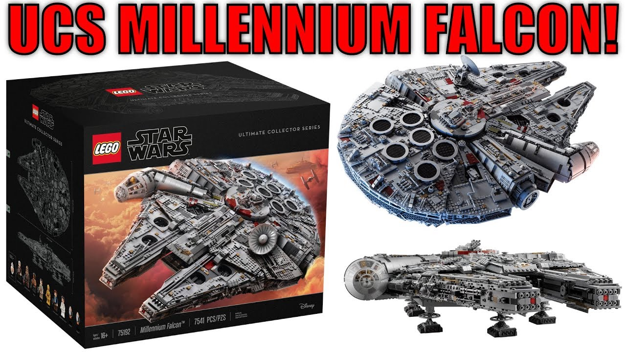 lego star wars 75192 ucs millennium falcon revealed. Black Bedroom Furniture Sets. Home Design Ideas