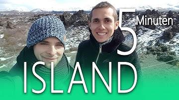 ISLAND in 5 Minuten 👍🙂 Reise-Tipps und Drone shots