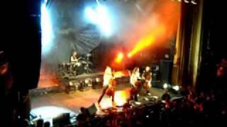 Apocalyptica argentina 14/01/12 Comienzo Enter sandman