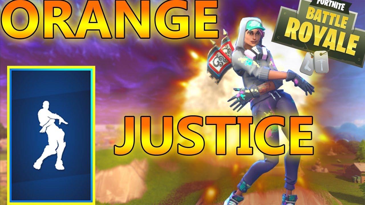 New Fortnite Orange Justice Dance Song Loop 10 Minutes Youtube