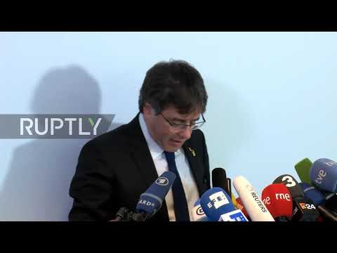 Germany: Puigdemont says Catalan separatist trial is a test for Spanish judiciary