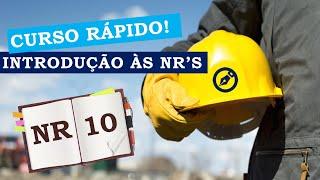 Assista ao minicurso e aprenda sobre a NR 10: Instalações elétricas e serviços com eletricidade.