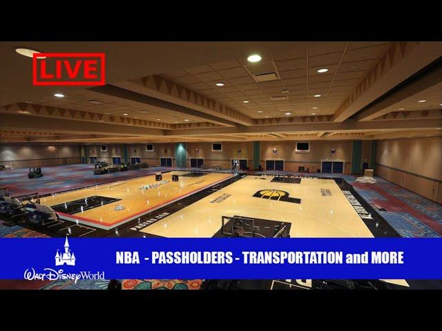LIVE: Tokyo Disneyland Open - Disney Passholders Booked - NBA Practice Courts
