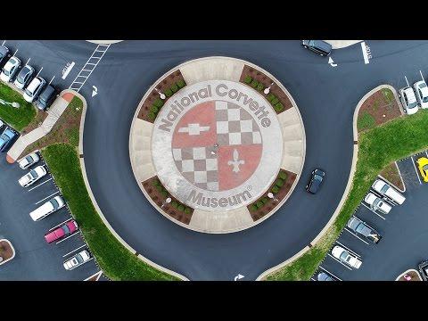 KEN HERON - Drone over The Corvette Museum [4K]