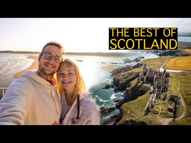 a week of vanlife in scotland   beaches, castles, and our new toy!