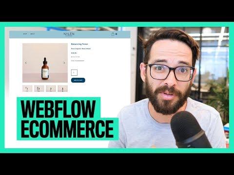 E-commerce Website with Webflow thumbnail