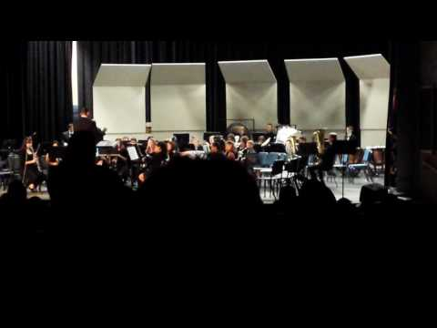 Gridley Middle School Concert Band - Dec. 8, 2016