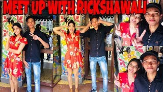 MEETING RICKSHAWALI IN PERSONAL PUNE CITY ISHANYA MALL HAD FUN WITH LOTS OF PEOPLES