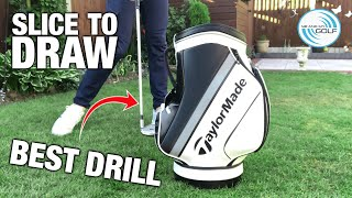 THE BEST DRILL TO DRAW THE GOLF BALL | ME AND MY GOLF