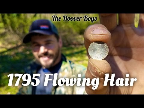RARE 1795 Flowing Hair Half Dime Found Metal Detecting