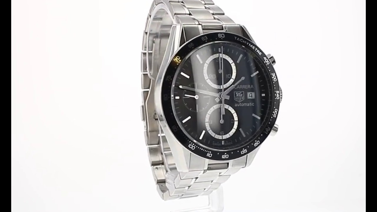 3eda775d167 Pre Owned Tag Heuer Carrera Ref CV2010-0 - YouTube