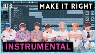BTS 'Make It Right' INSTRUMENTAL REMAKE - By_J.seol
