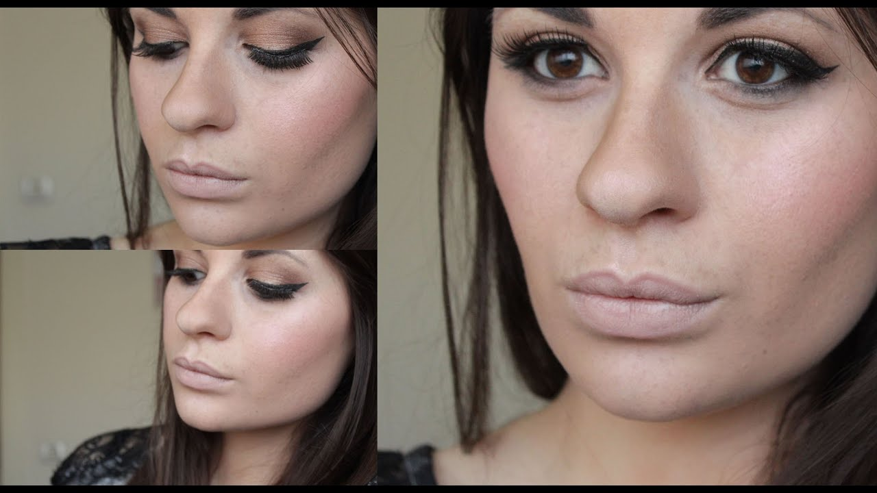 Quick Amp Simple Makeup With Smashbox Palette And L Oreal