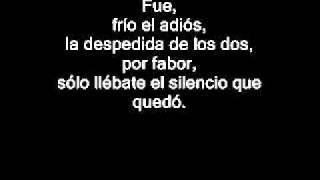 Reik - Fui (lyrics)