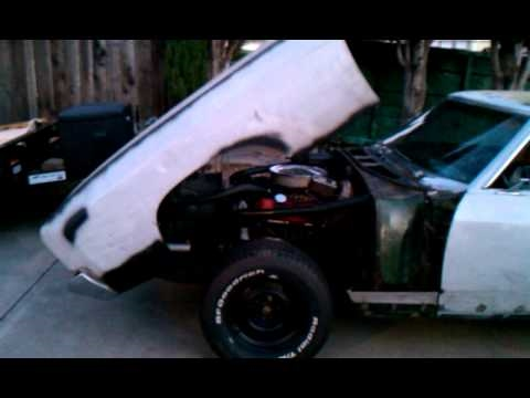 1971 Monte Carlo Custom Tilt Front End Youtube