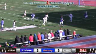 HAN Sports: FCIAC Boys Soccer Quarterfinal - #3 Danbury vs. #6 Fairfield Ludlowe 10.28.16