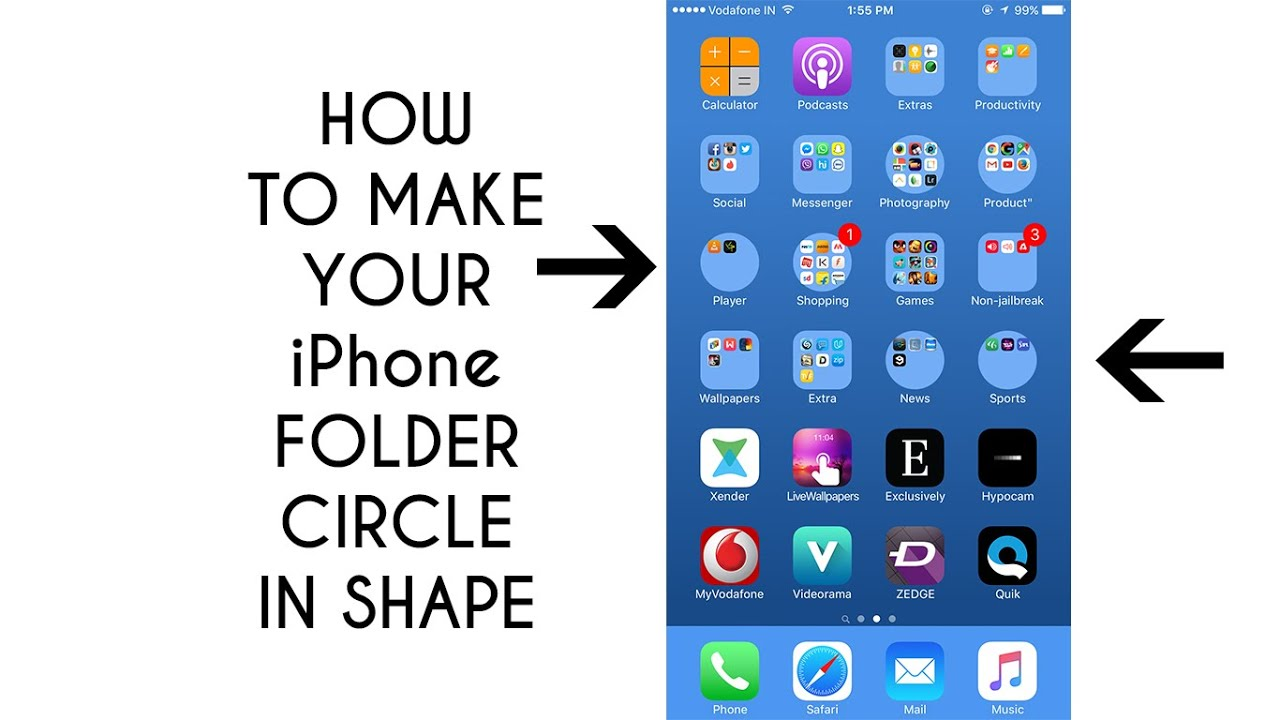 make a folder on iphone how to make your iphone folder in shape no 6476