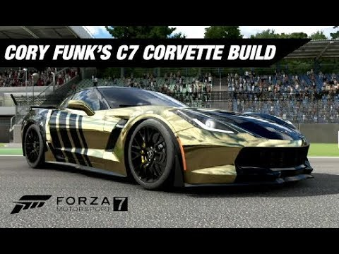 Cory Funk S Wrapped C7 Corvette Build Forza Motorsport 7