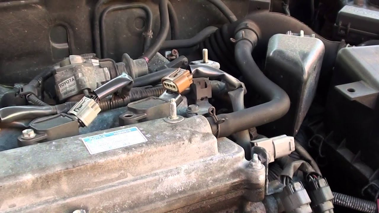 2001 Toyota Echo Engine Wiring Diagram Toyota Injector Coil Replace Fault P1315 Amp Engine Light
