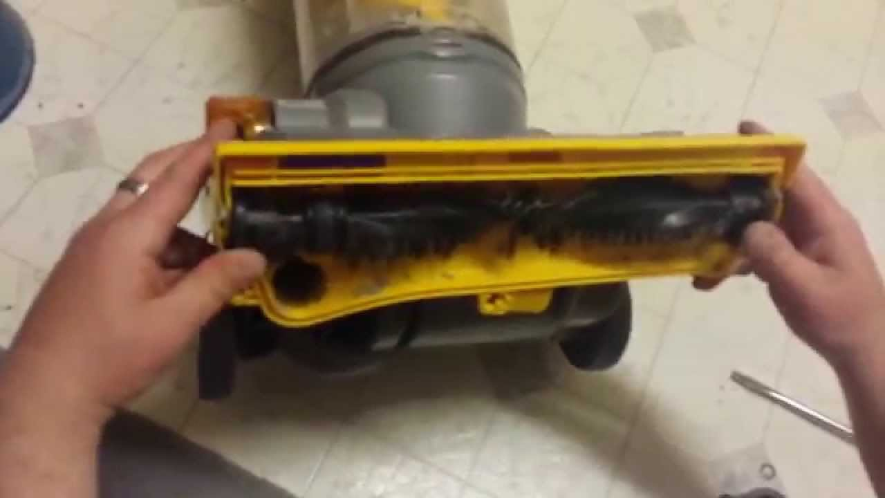 Dyson Burning Smell Beater Bar Brush Stuck Dc14 Not