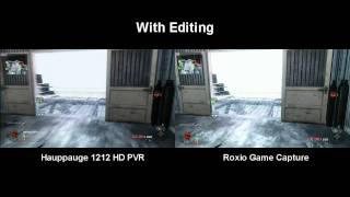 Hauppauge HD PVR vs Roxio Game Capture Comparison