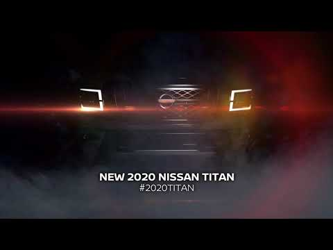 2020 Nissan Titan Will Be Unveiled On September 26, 2019