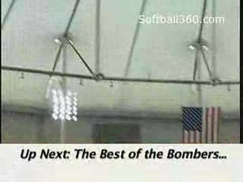Softball 360 2005: Bomber Jeff Hall; Bomber Highlights