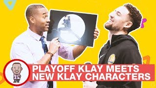 PLAYOFF KLAY MEETS NEW KLAY CHARACTERS on CABBIE PRESENTS
