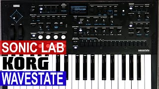 Sonic LAB - Korg Wavestate Review