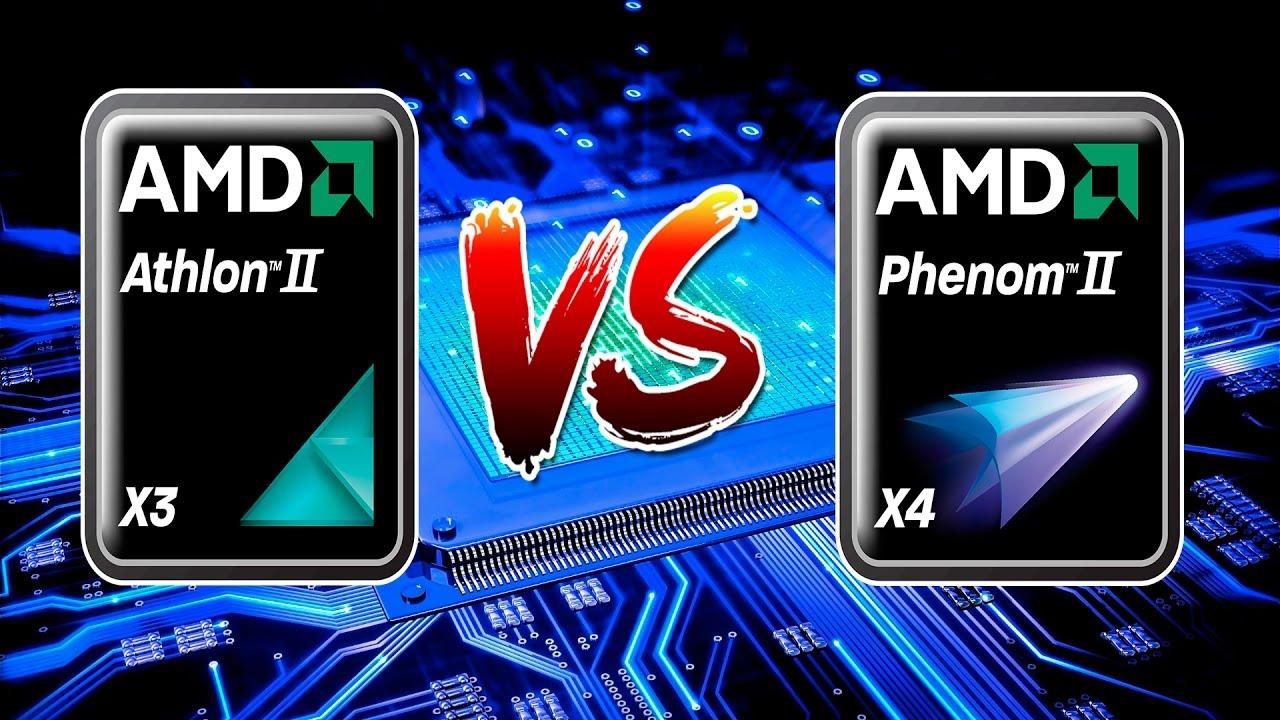 Amd Phenom Ii X4 955 Vs Athlon Ii X3 445 In 7 Game Gtx 950 Youtube