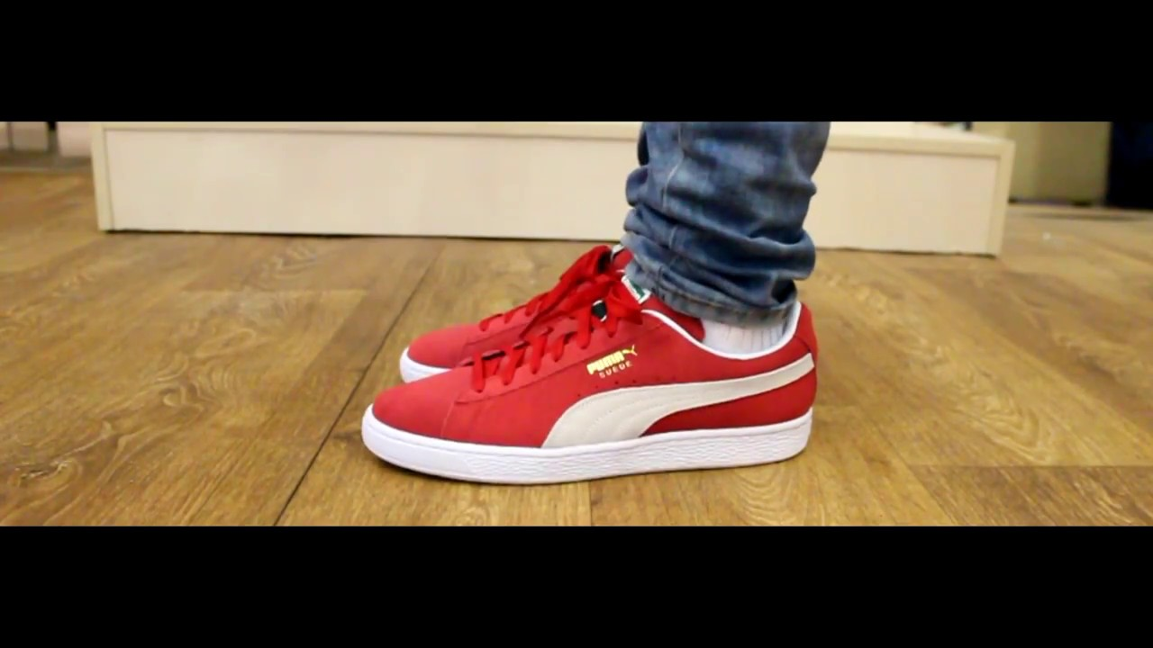 ONFEET | Puma Suede Classic+ Red/White