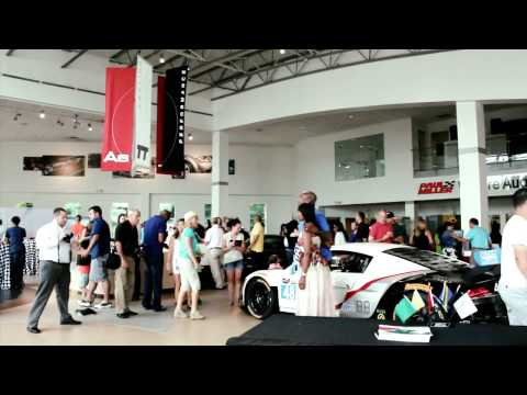 Stars & Cars Visits Paul Miller Audi