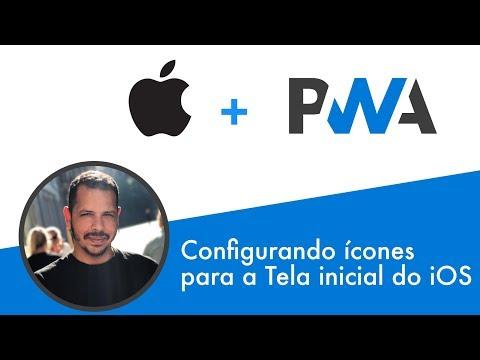Curso PWA #10 - Configurando ícones para tela inicial do iOS