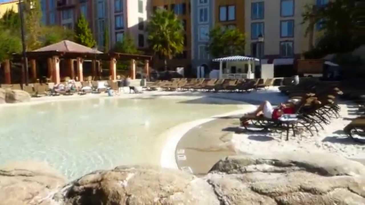 The Loews Portofino Bay Hotel Pools Orlando Youtube